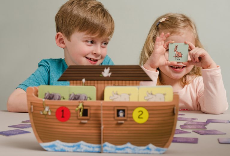 Children Playing Ark Buddies with Boat